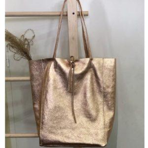 sac cabas cuivre