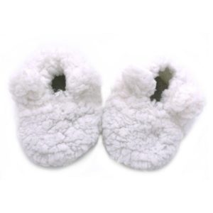 chaussons ours sherpa blc