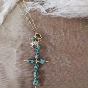 sautoir croix